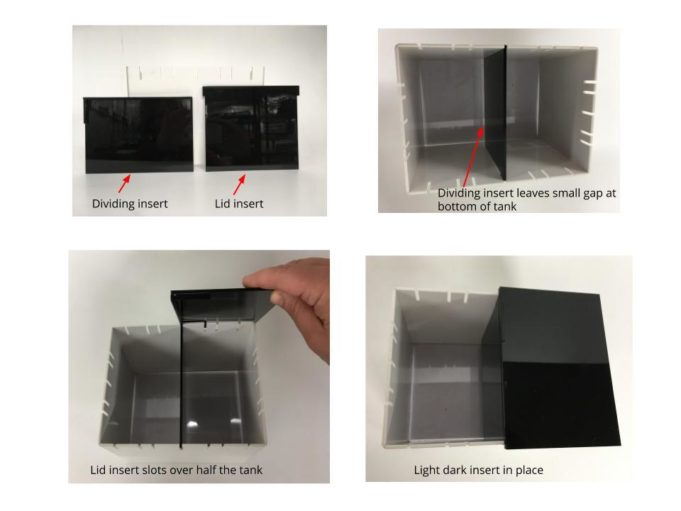 Light Dark Box For Ad Unit